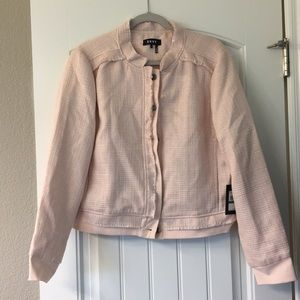 DKNY blush/ peachy jacket